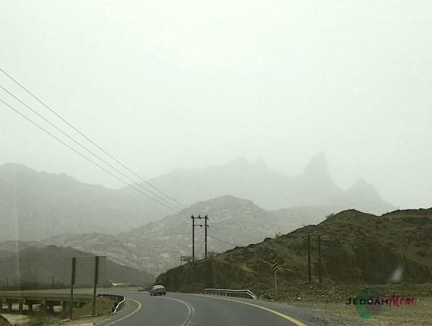 Shada mountain range in al Bahah province of Saudi Arabia. JeddahMom