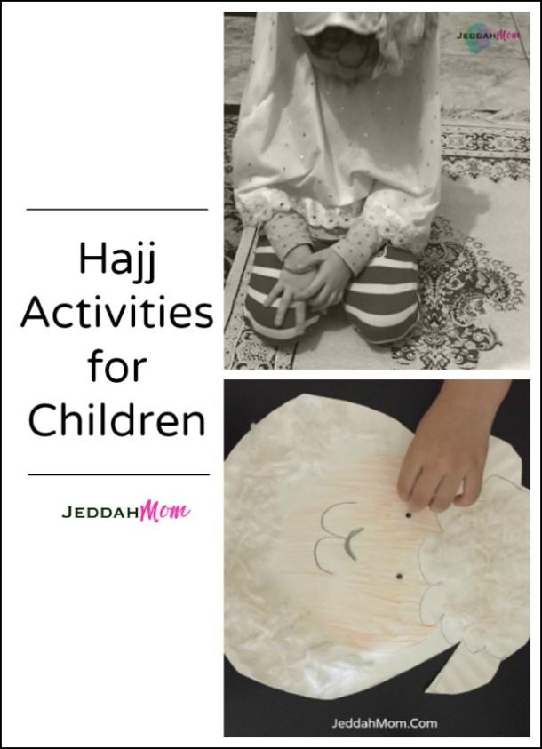 Hajj Activities for kids JeddahMom