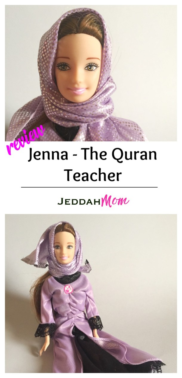 Jenna the Quran Teacher Review of an Islamic diverse doll perfect muslim gift for girls