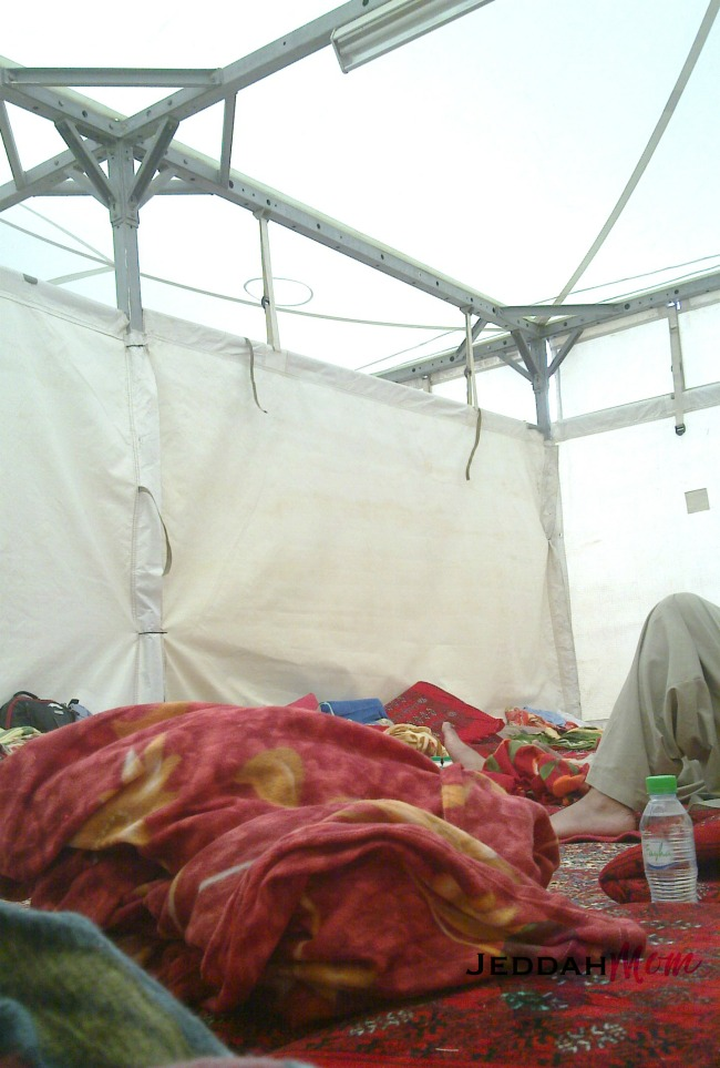 what life in a tent looks like | JeddahMom