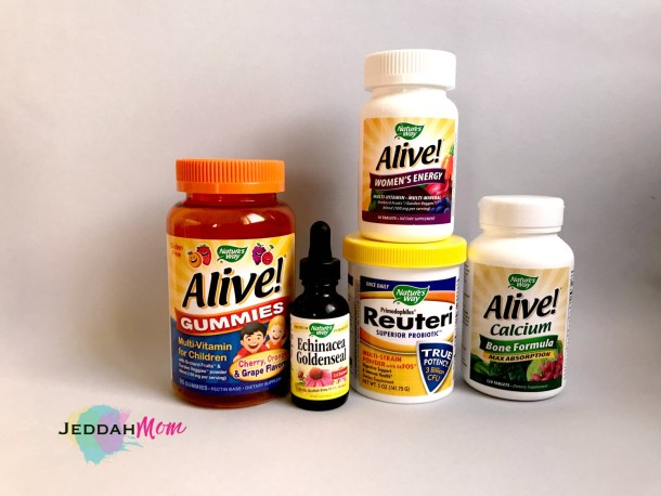 Supplements to keep your family healthy JeddahMom
