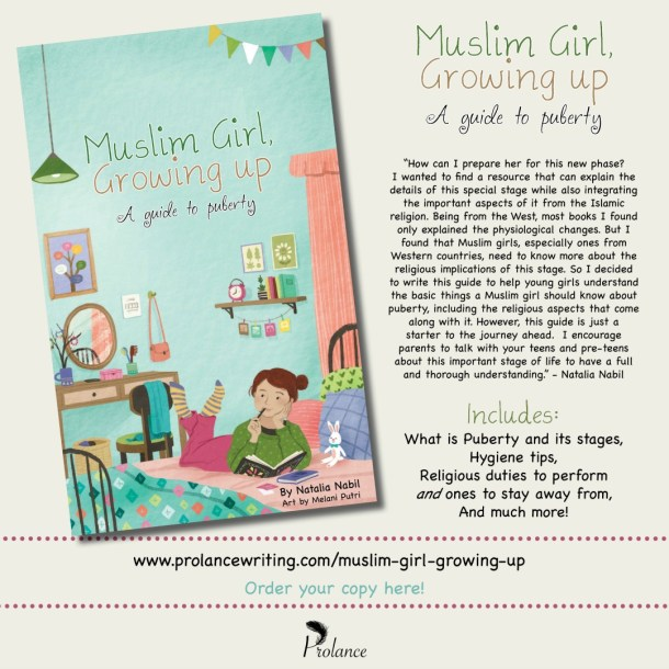 Muslim Girl, Growing Up Launch Poster | JeddahMom