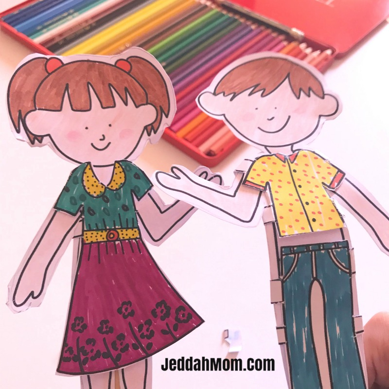 Ramadan and Eid Activity Book - Crafts and Coloring Activities