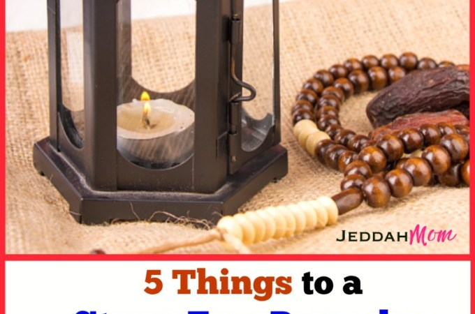 Preparing for Ramadan : 5 Things to do Right NOW!