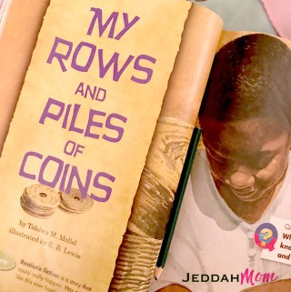 My Rows and piles of coins by tololwa m mollel e b lewis JeddahMom