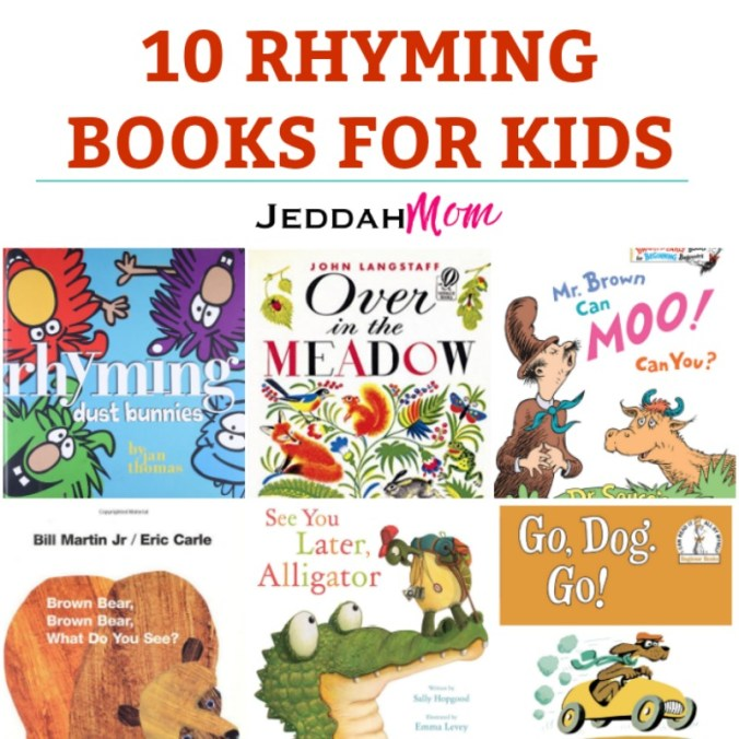 10 rhyming books for kids that are fun and silly JeddahMom