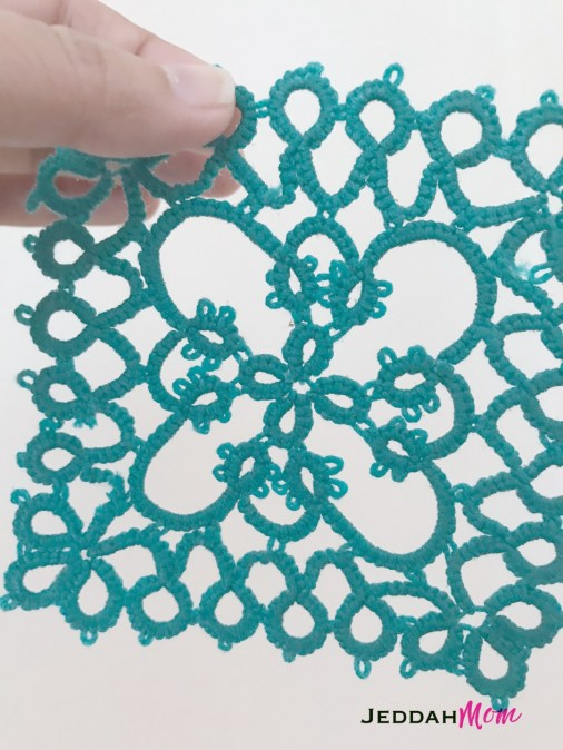 How to stiffen a doily with candle wax JeddahMom
