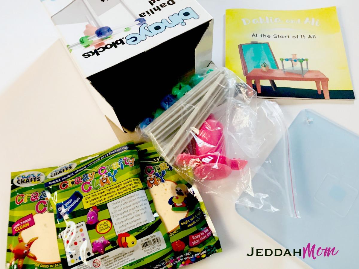 Inside Binaye Blocks dahlia and ali start of it all quran based stem toy review jeddahMom