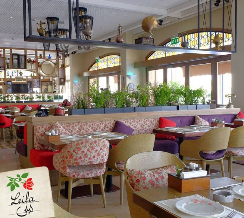 مقهى ومطعم ليلى جدة المنيو والاسعار والعنوان