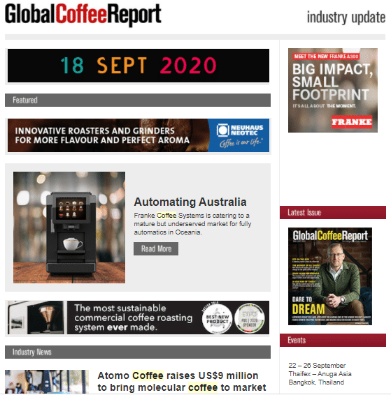 Global Coffee Report - Jeder Agency