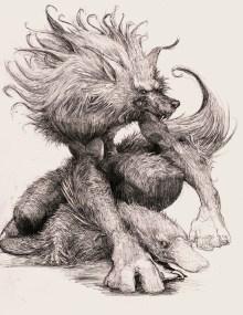 Loup garou et platypus