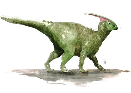 parasaurolophus-aquarelle-page-001-2