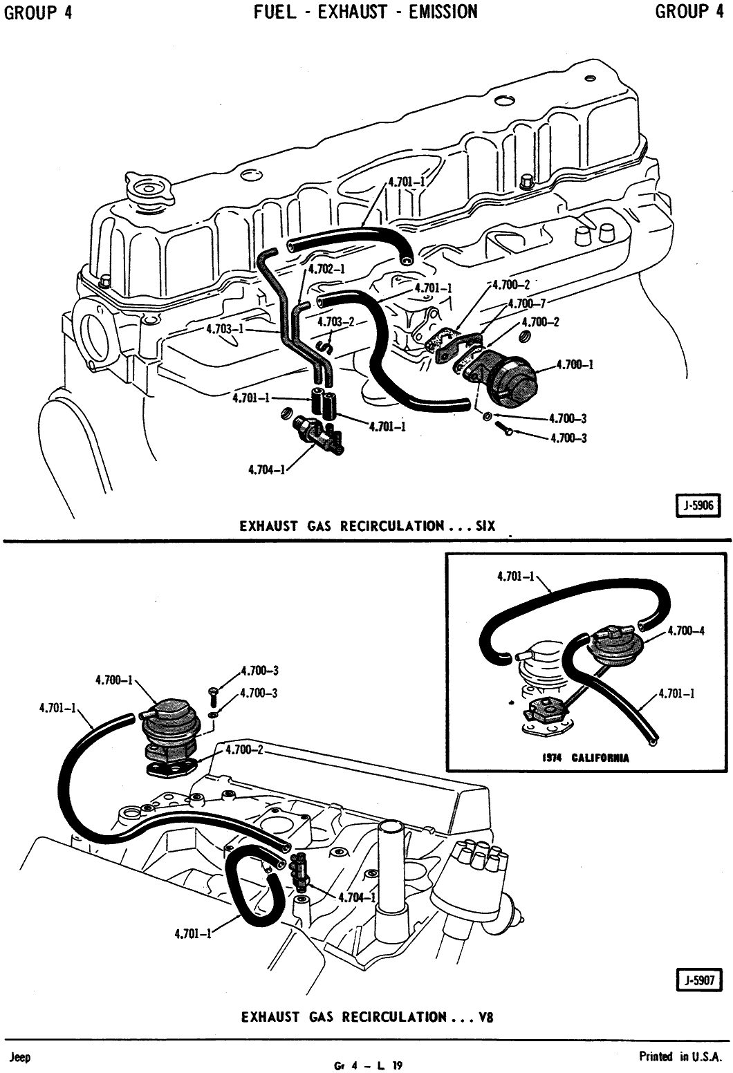 Jeep Cj7 I258 Engine Wiring