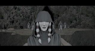 Darth Traya and shadowy Sith warriors