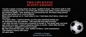 "quote and ball image from ""The Churning"""