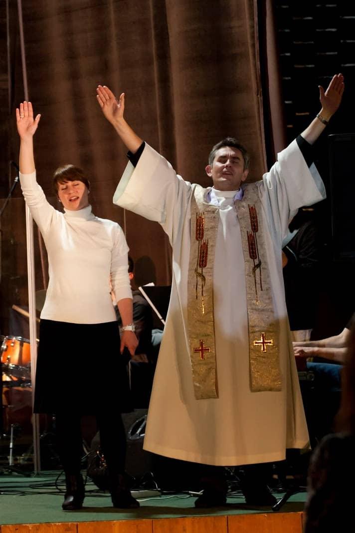 Wspólnota Jednego Ducha, Wieczór Chwały, 2012.11.29