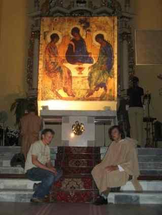 Wspólnota, Wspólnota Jednego Ducha, Rekolekcje, Próby, Zraniony Pasterz, Zraniony Pasterz w Międzyrzecu Podlaskim, 2007.09.16