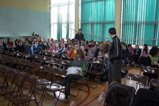 Wspólnota,  Wspólnota Jednego Ducha,  Rekolekcje,  Rekolekcje szkolne, 2011.04.08