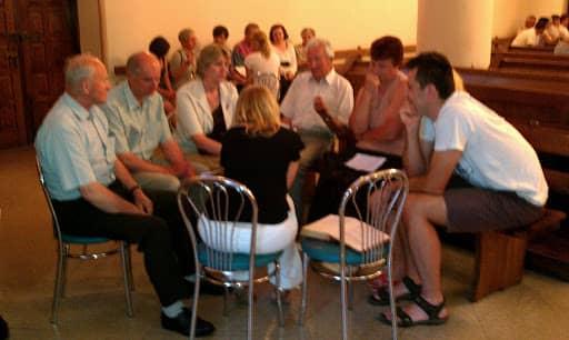 Wspólnota,  Wspólnota Jednego Ducha,  Warsztaty,  Warsztaty animacyjne małych grup w Osicach, 2011.06.01
