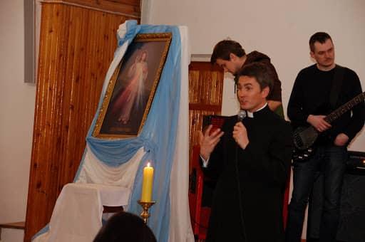 Wspólnota,  Wieczór Chwały, Wieczór Chwały w kaplicy Duszpasterstwa Akademickiego, 2008.03.13