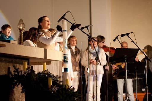 Wspólnota,  Wspólnota Jednego Ducha,  Wieczór Chwały,  Wieczór Chwały w Sobolewie, 2011.12.10