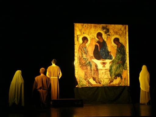 Wspólnota, Wspólnota Jednego Ducha, Rekolekcje, Zraniony Pasterz w Centrum Kultury i Sztuki w Siedlcach, 2007.12.16