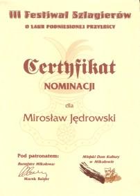 III Festiwal Szlagierów 2003