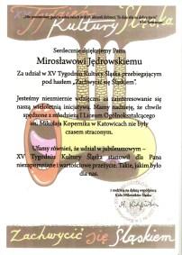 XV Tydzień Kultury Śląska 2008