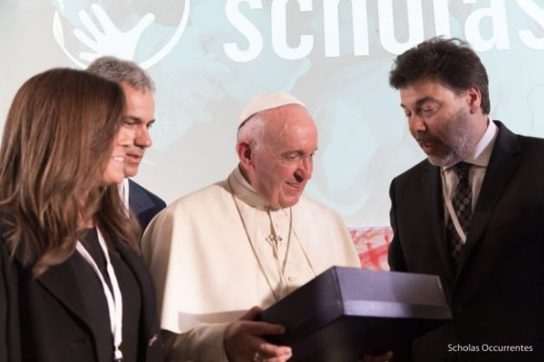 Pope gives blessing to collaboration between World ORT and Vatican