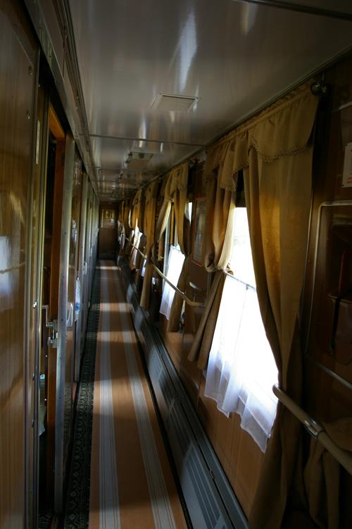 Wagon w transsibie