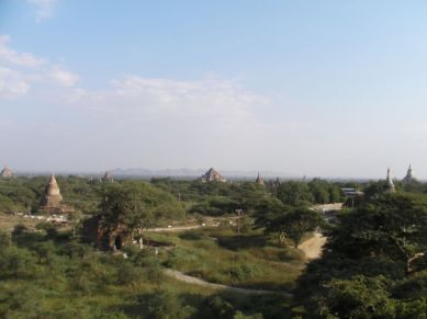Widok ze Starego Bagan