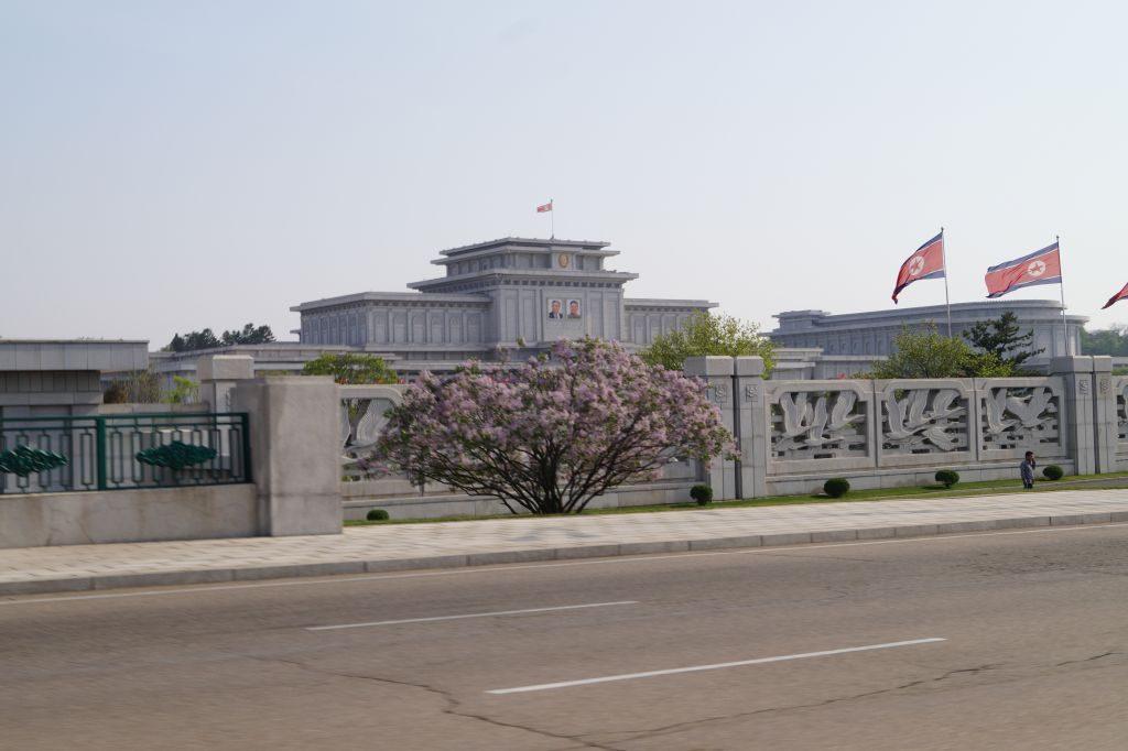 Pjongjang - Mauzoleum Kim Ir Sena