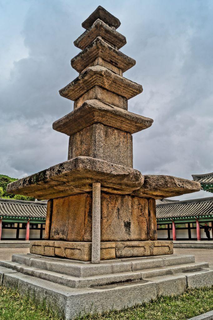 Ryongtongsa - oryginalna stupa