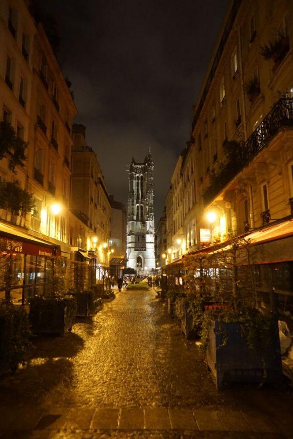 Paryż - Wieża Św. Jakuba