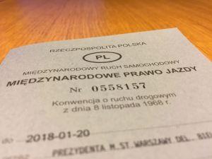 Międzynarodowe prawo jazdy (PL)
