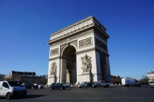 Paryż - Łuk Triumfalny