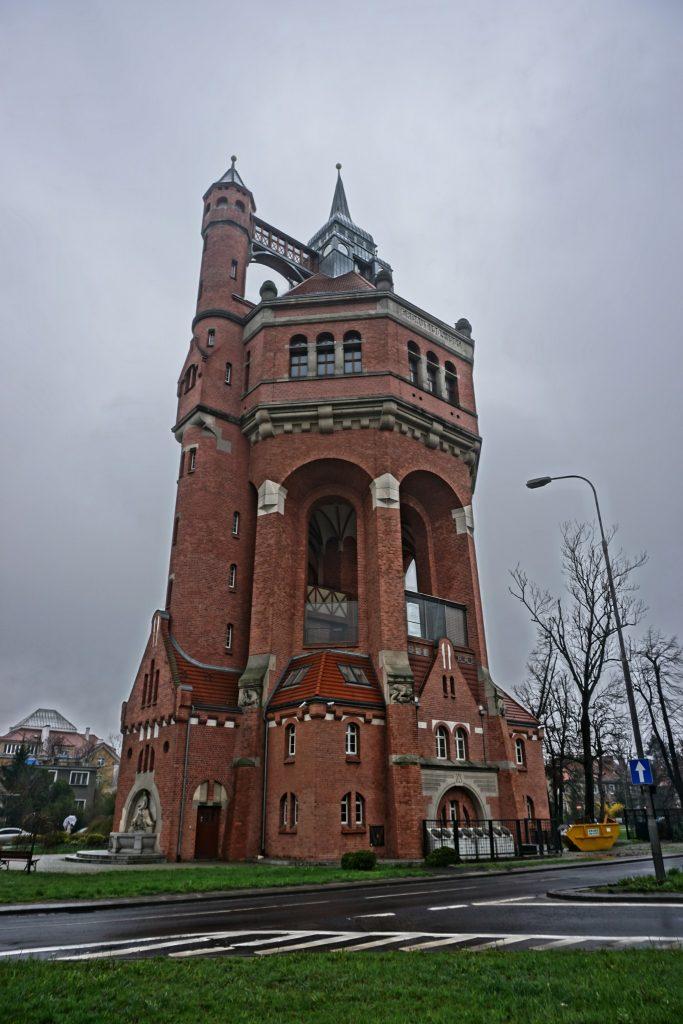 Wrocław - Wieża ciśnień - Sudecka