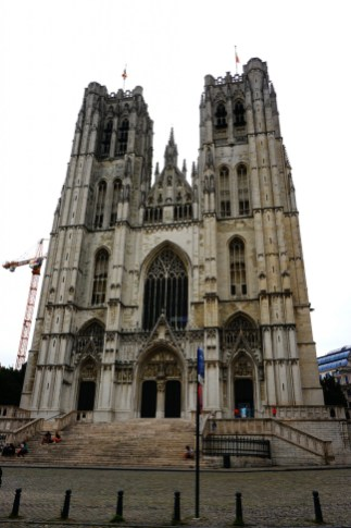 Bruksela - Katedra św. Michała i Guduli