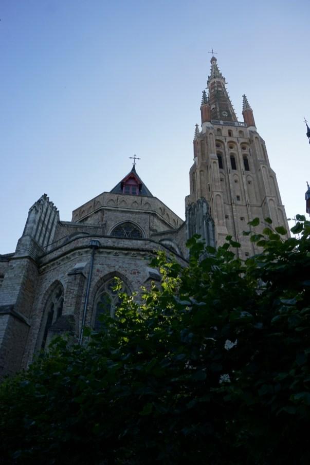 Brugia - jeden z kościołów
