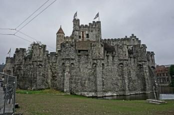 Gandawa - Zamek Władców Flandrii