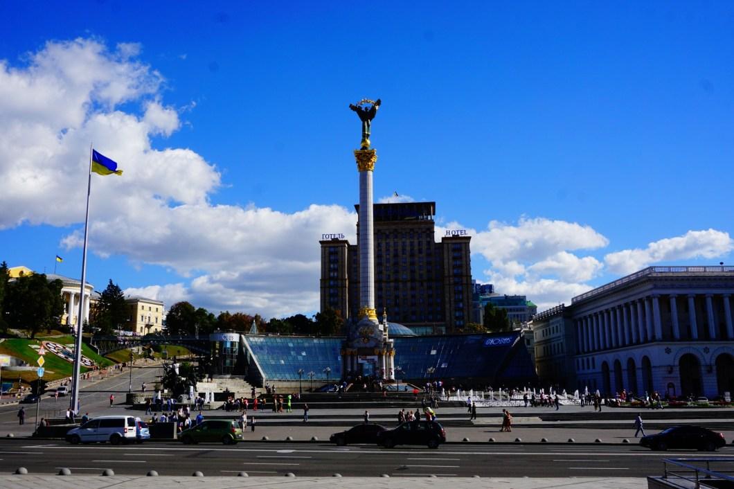Kijów - Majdan