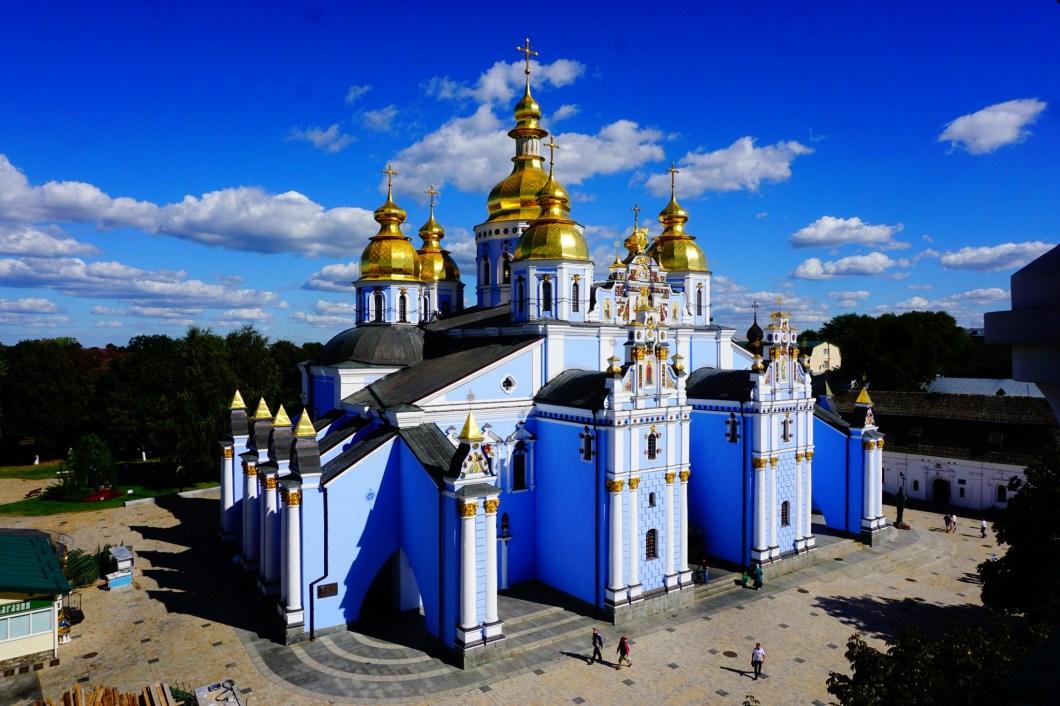 Kijów - Sobór o Złotych Kopułach