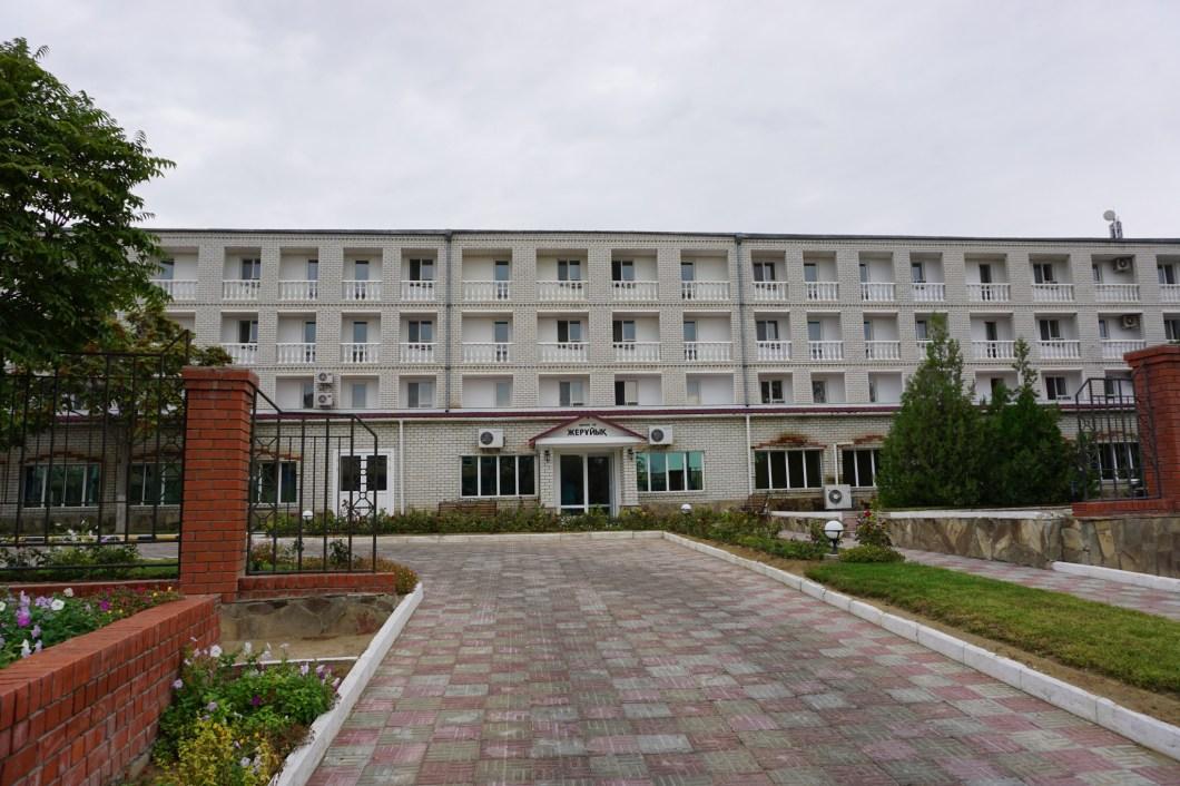 Aktau - hotel Jeruiyq