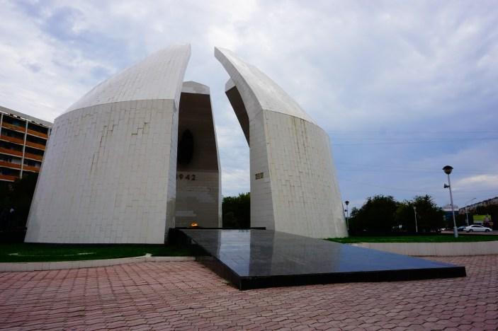 Aktau - Pomnik Bohaterów Wojny