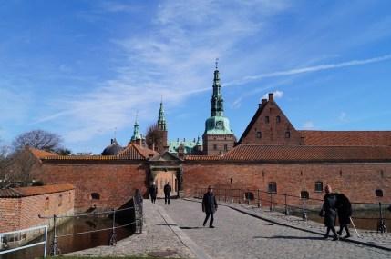 Frederiksborg - główna brama