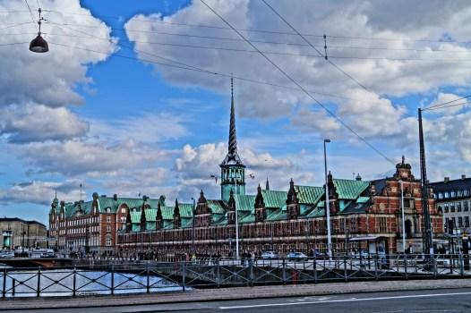 Kopenhaga - budynek giełdy