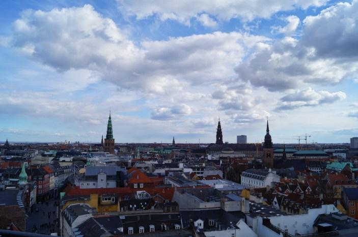 Kopenhaga - panorama