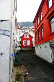 Bergen - uliczka