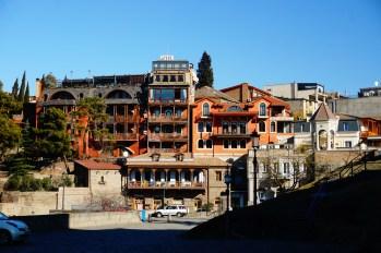 Tbilisi - zabudowa