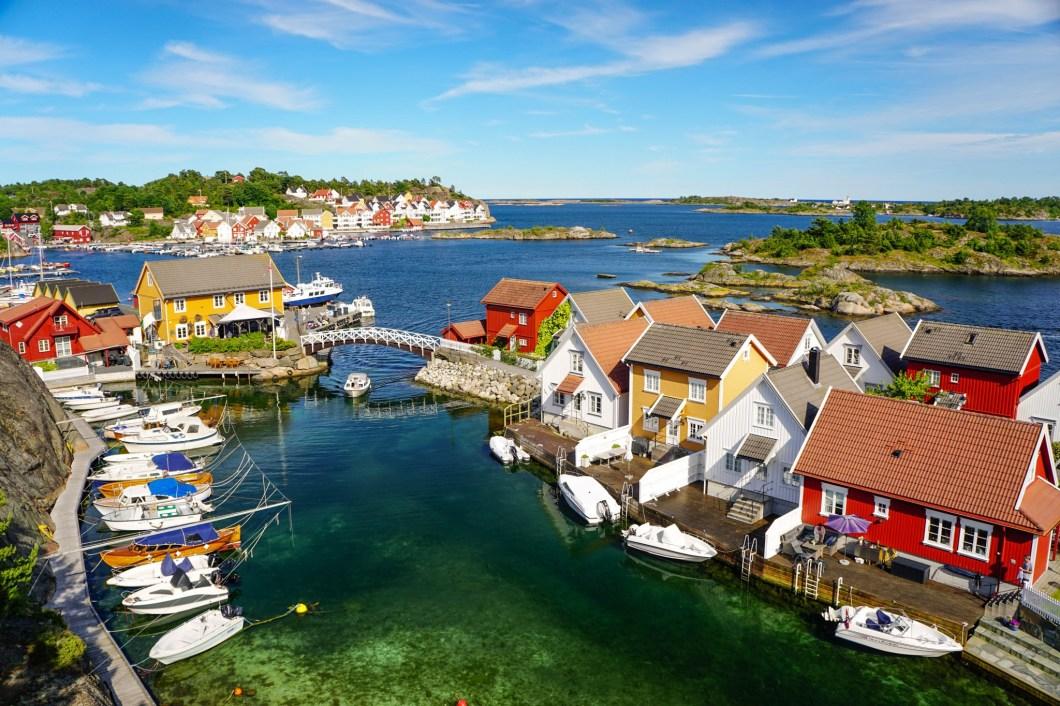 Południowa Norwegia - Gjeving